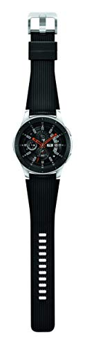 Samsung Galaxy Watch (46mm, GPS, Bluetooth) – Silver/Black (US Version)