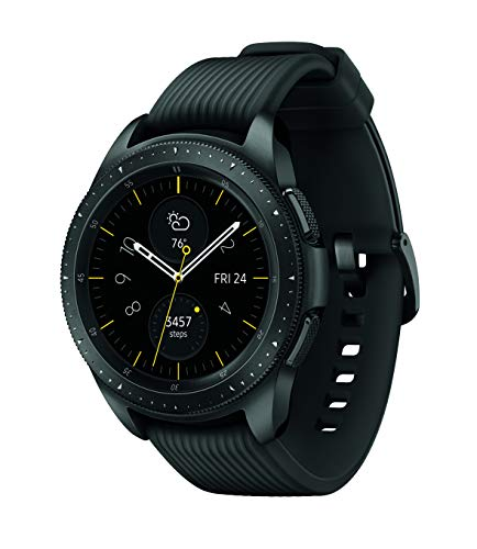 Samsung Galaxy Watch (42mm, GPS, Bluetooth) – Midnight Black (US Version)