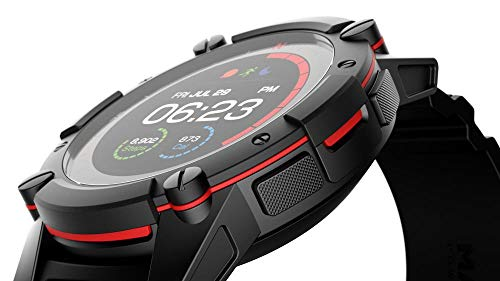 PowerWatch 2, Body Heat Powered Fitness Tracker Smart Watch, 200M Dive, GPS, Calorie and Step Count, iPhone/Samsung Compatible