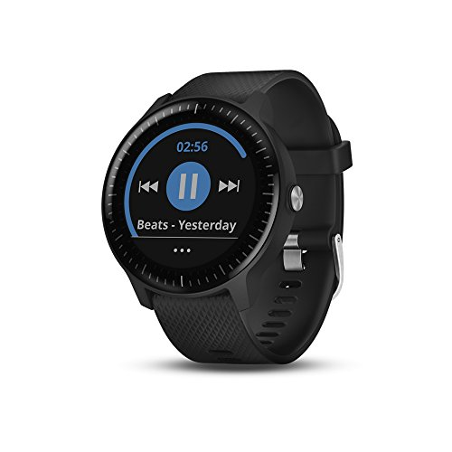 Garmin Vívoactive 3 Music, Gps Smartwatch with Music Storage and Built-In Sports Apps, Black