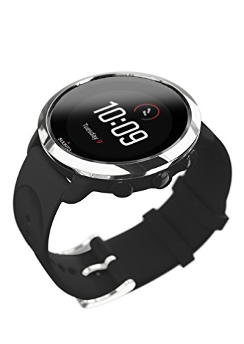 Suunto 3, Sports Watch with Wrist-Based Heart Rate, 24/7 Fitness Activity and Recovery Tracking - Black