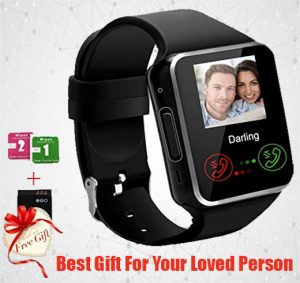 Bluetooth Smart Watch with Camera Sim Card